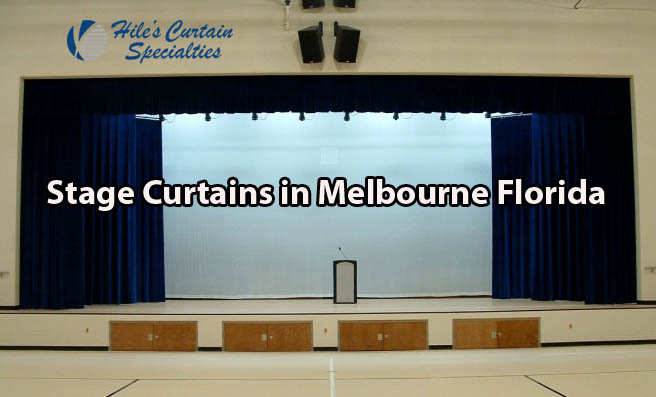 Stage Curtains in Melbourne Florida