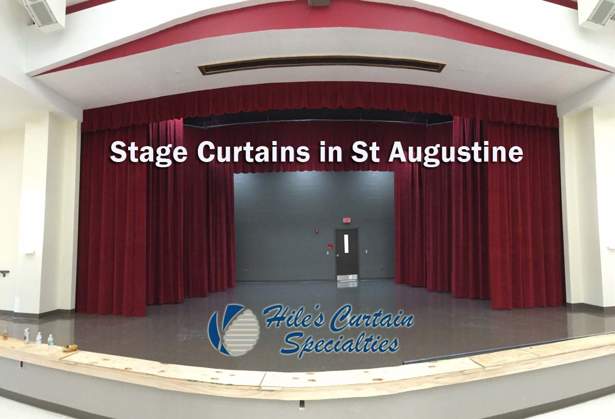 Stage Curtains in St Augustine Florida