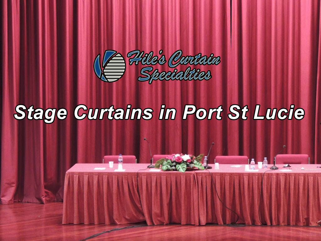 stage curtains in Port St Lucie Florida