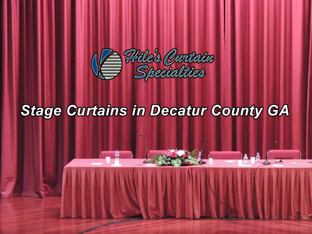 Stage Curtains in Decatur County GA