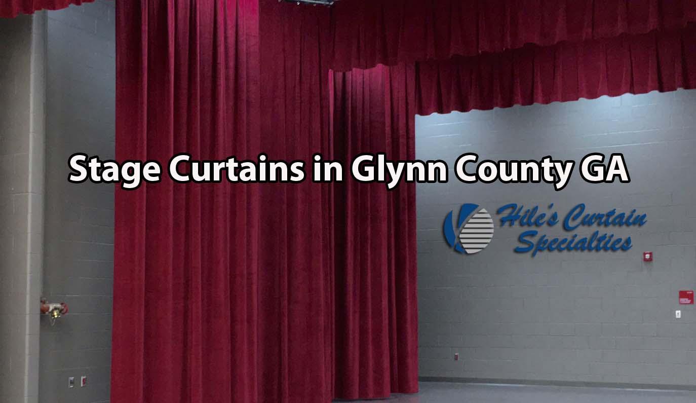 Stage Curtains in Glynn County GA