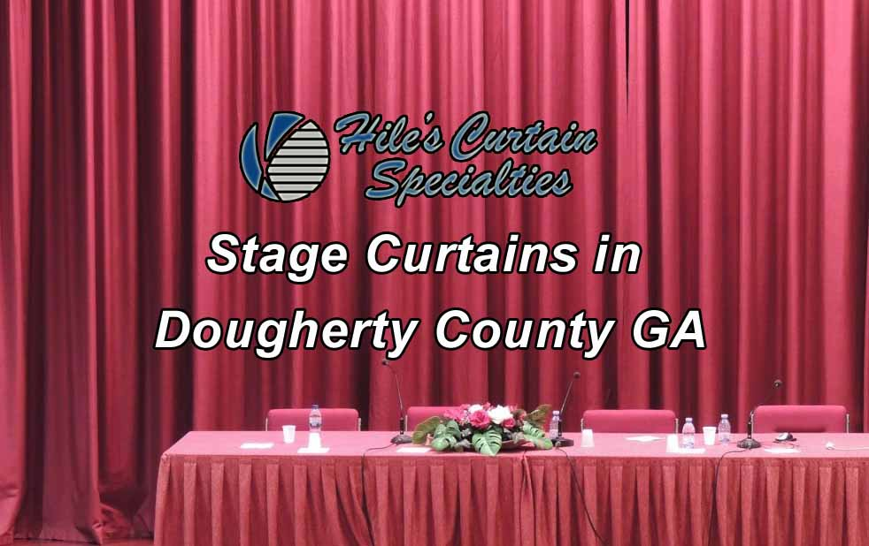 Stage Curtains in Dougherty County GA