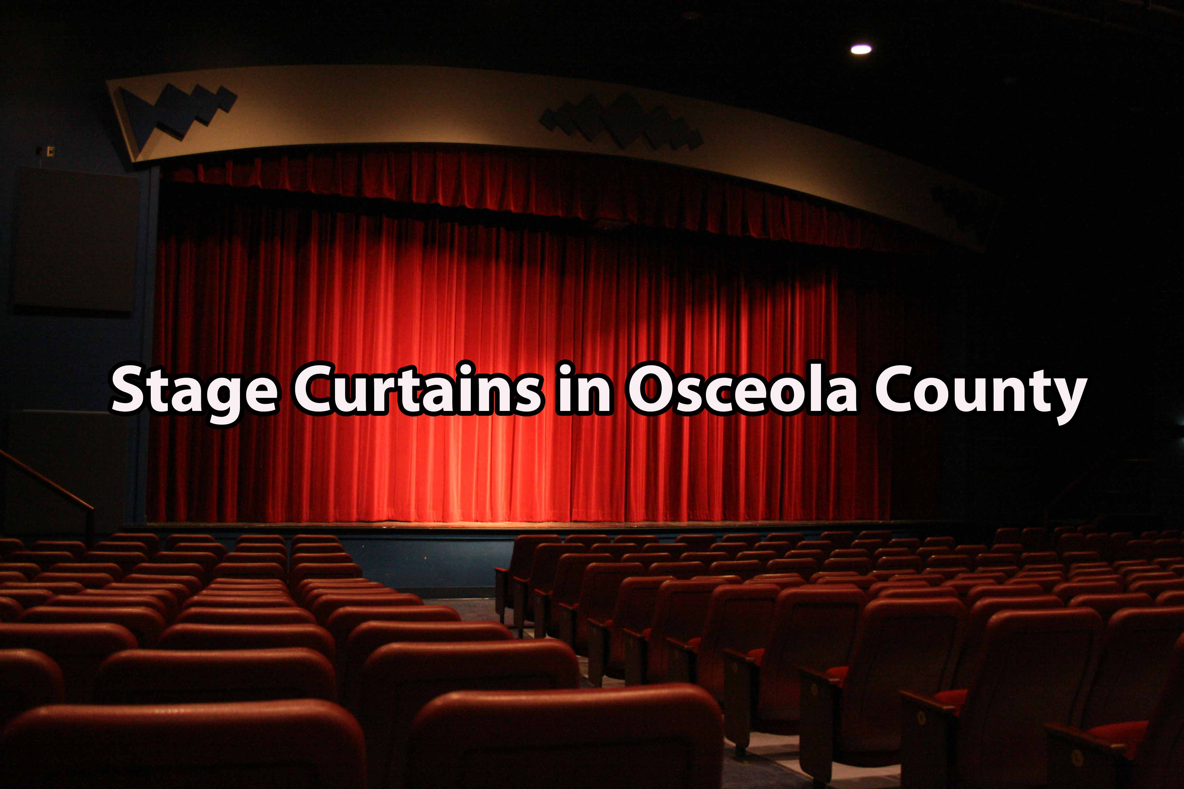 Stage Curtains in Osceola County