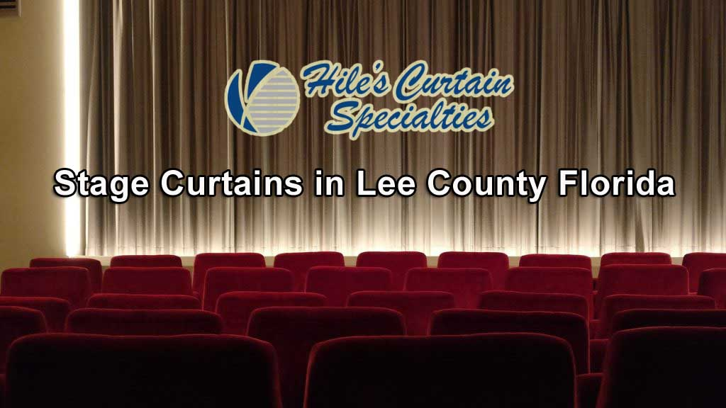 Stage Curtains in Lee County Florida