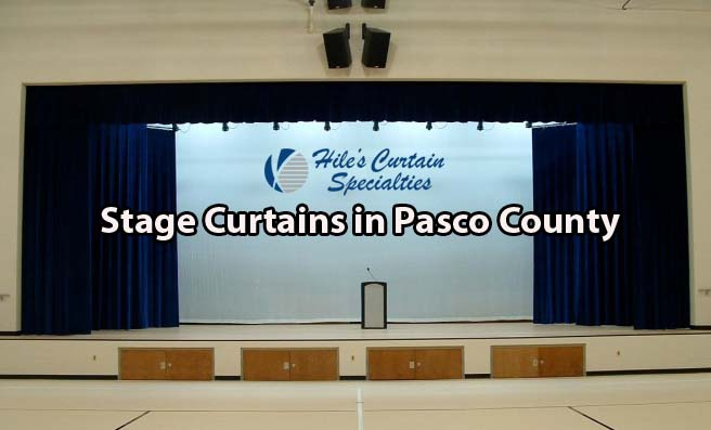 Stage Curtains in Pasco County