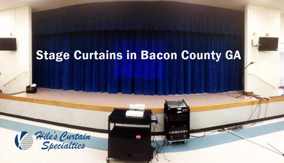 Stage Curtains in Bacon County GA