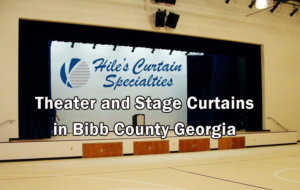Stage Curtains in Bibb County GA