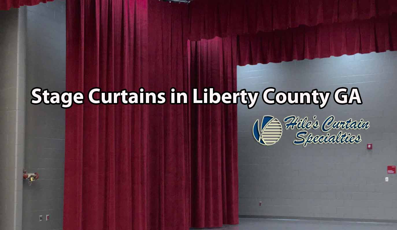 Stage Curtains in Liberty County GA