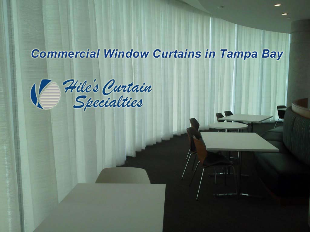 Commercial Window Curtains in Tampa Bay