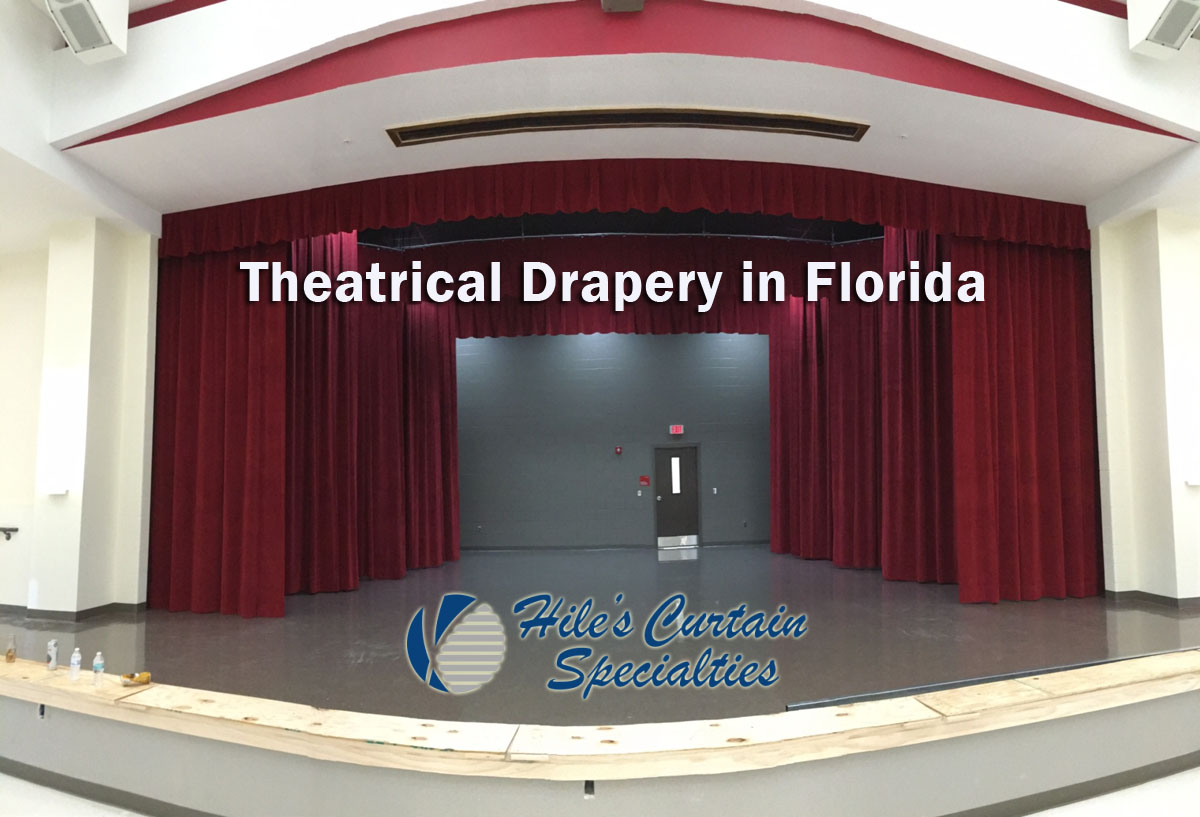 Stage Curtains in Collier County
