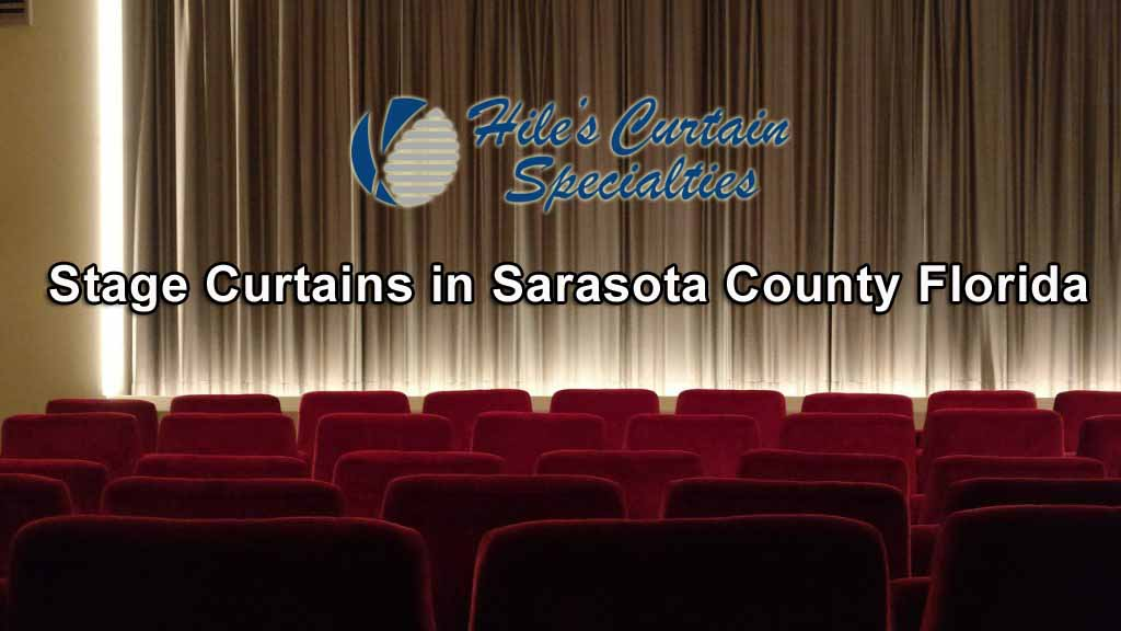 Stage Curtains in Sarasota County