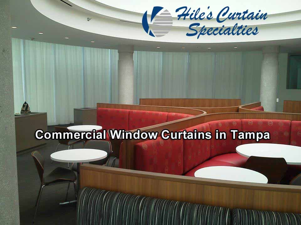 Commercial Window Curtains in Tampa
