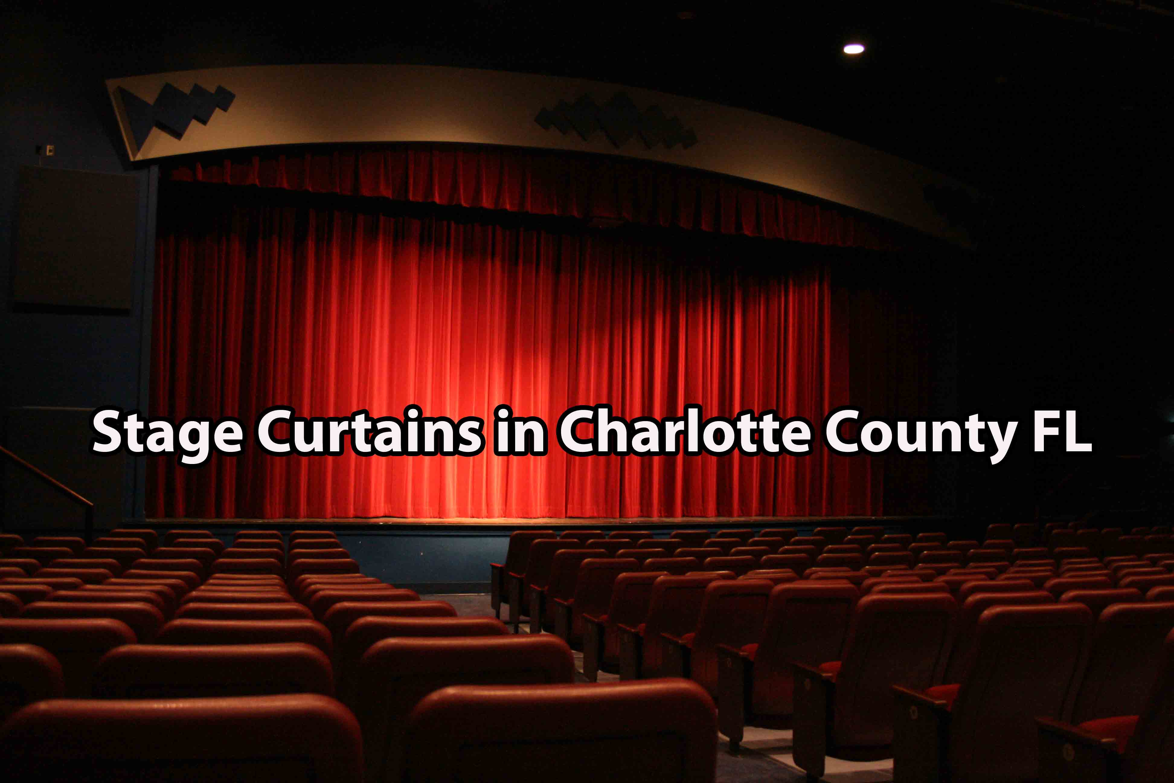 Stage Curtains in Charlotte County FL