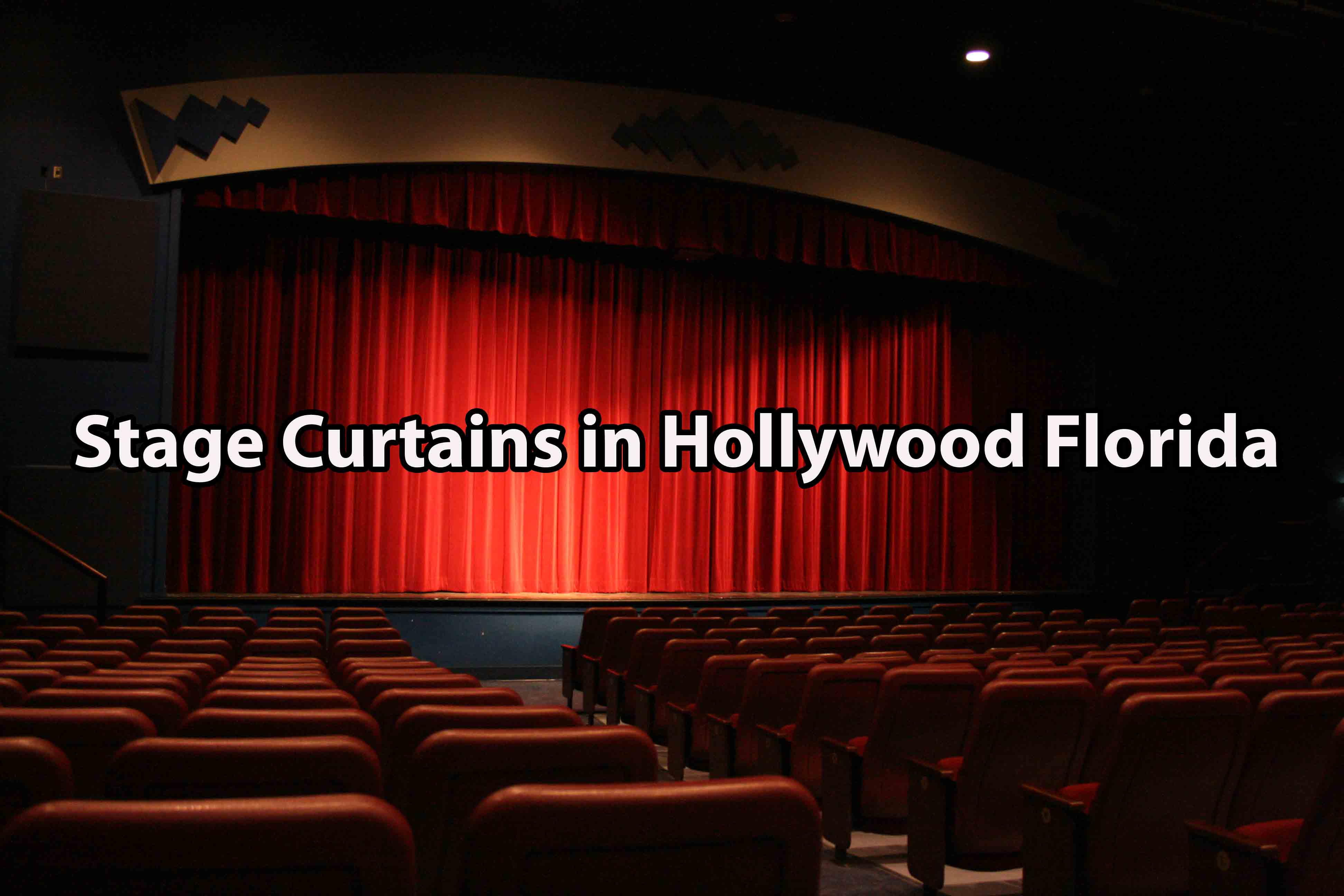 Stage Curtains in Hollywood Florida