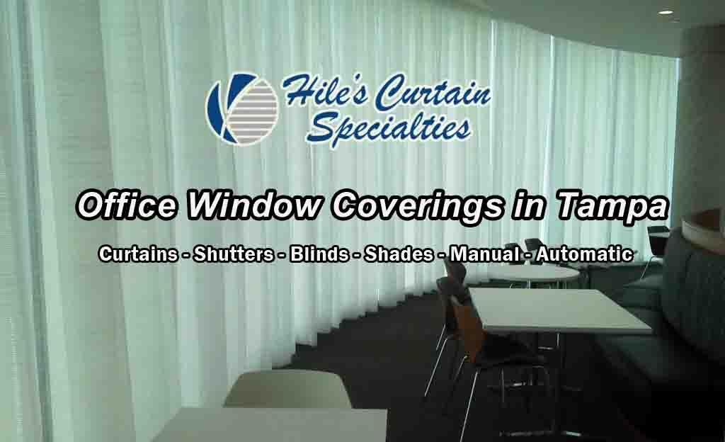 Office Window Coverings in Tampa Bay