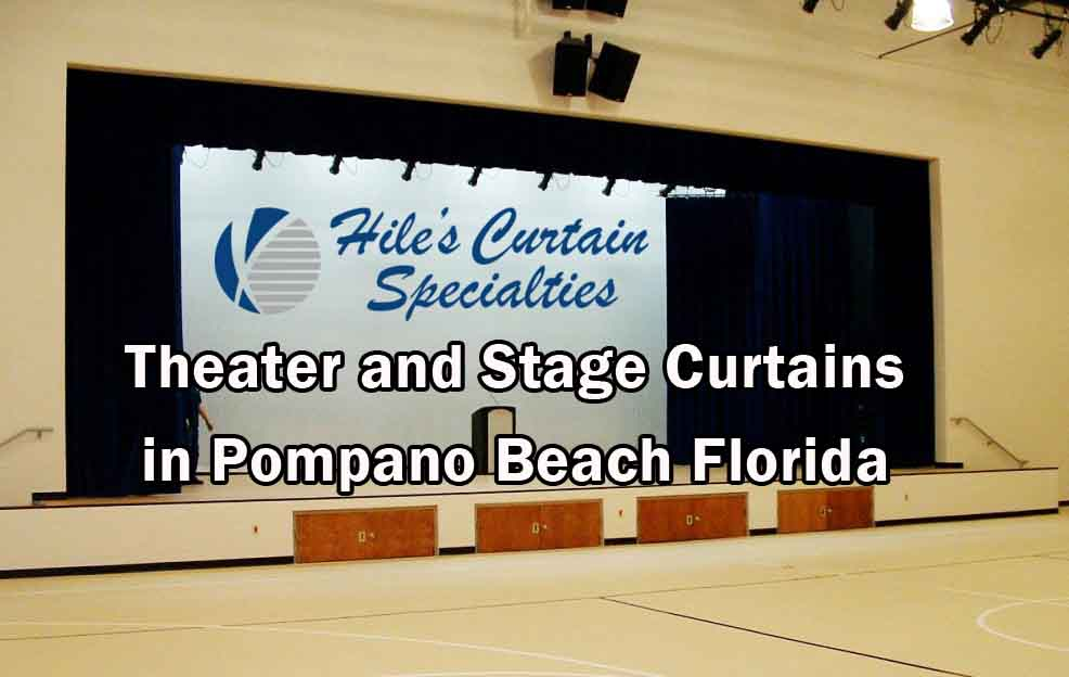 Stage Curtains - Pompano Beach