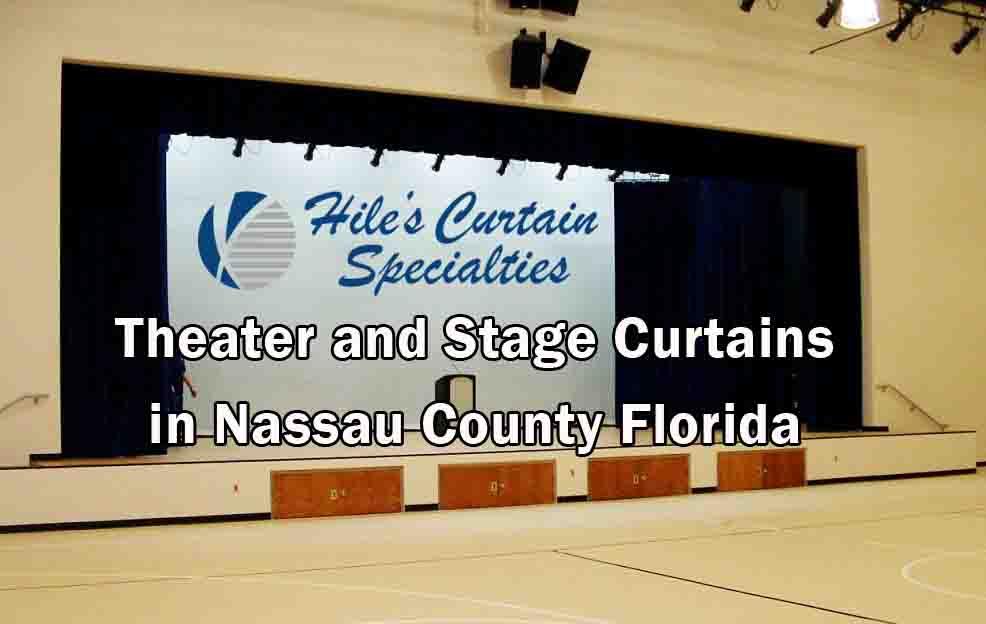 Stage Curtains - Nassau County Florida