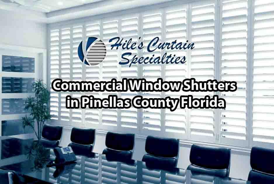 Commercial Window Shutters - Pinellas County