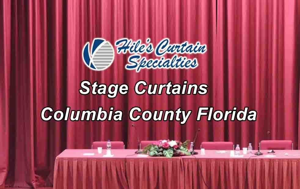 Stage Curtains - Columbia County Florida