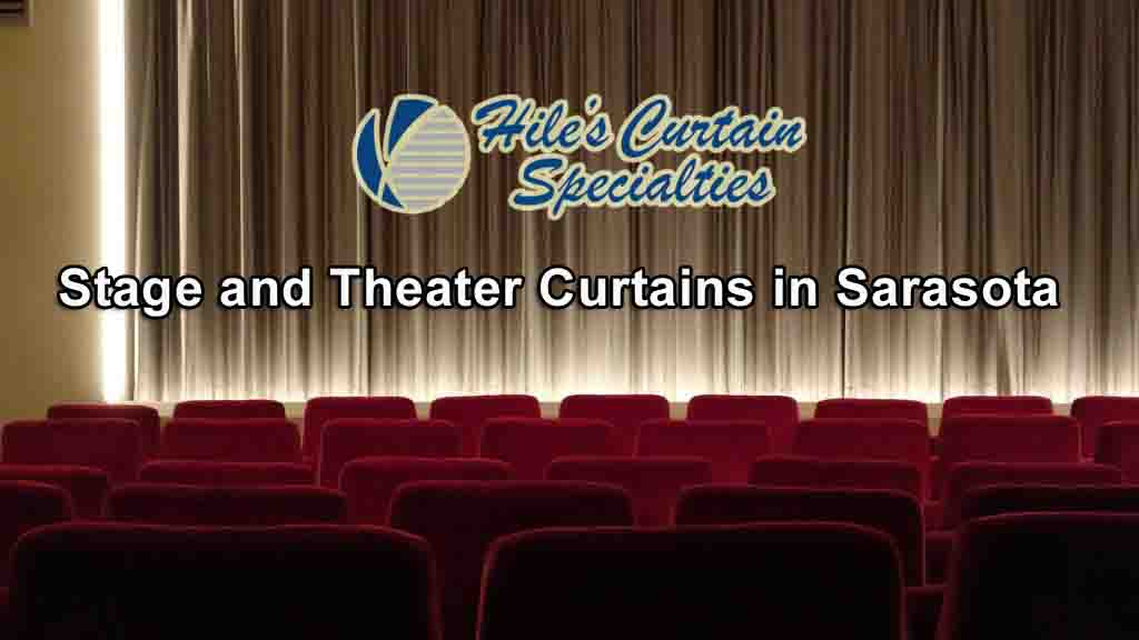 Stage and Theater Curtains in Sarasota