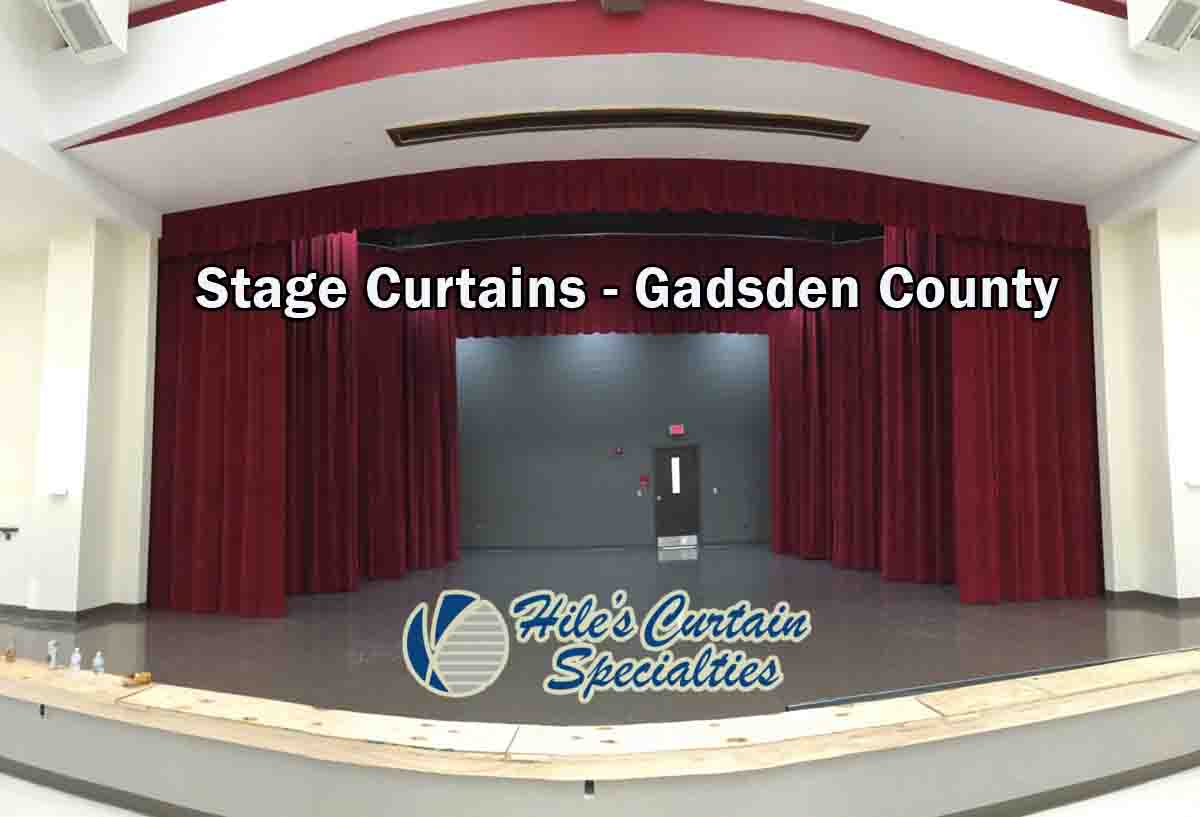 Stage Curtains - Gadsden County
