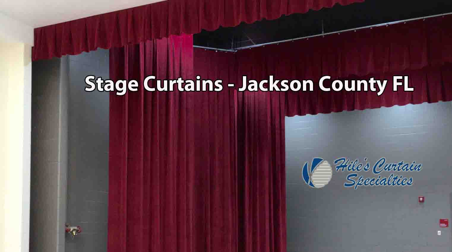 Stage Curtains - Jackson County FL