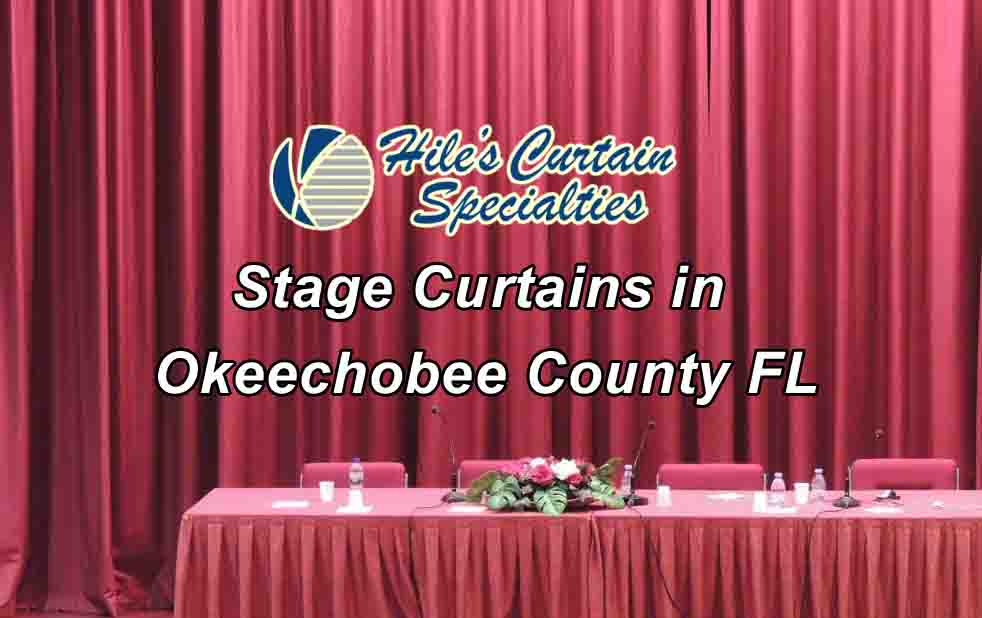 Stage Curtains - Okeechobee County