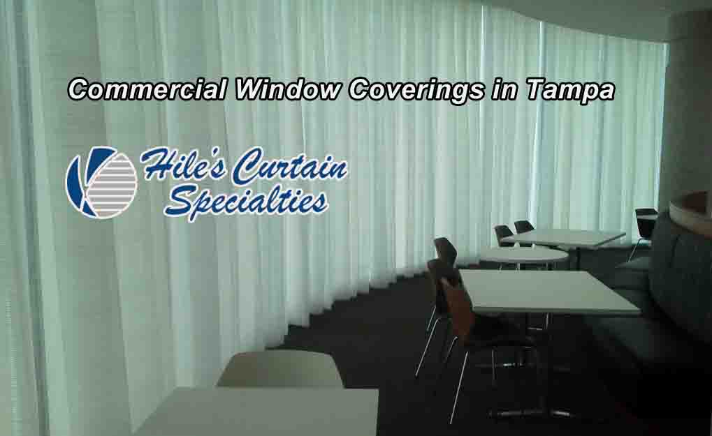 Commercial Window Coverings in Tampa Bay
