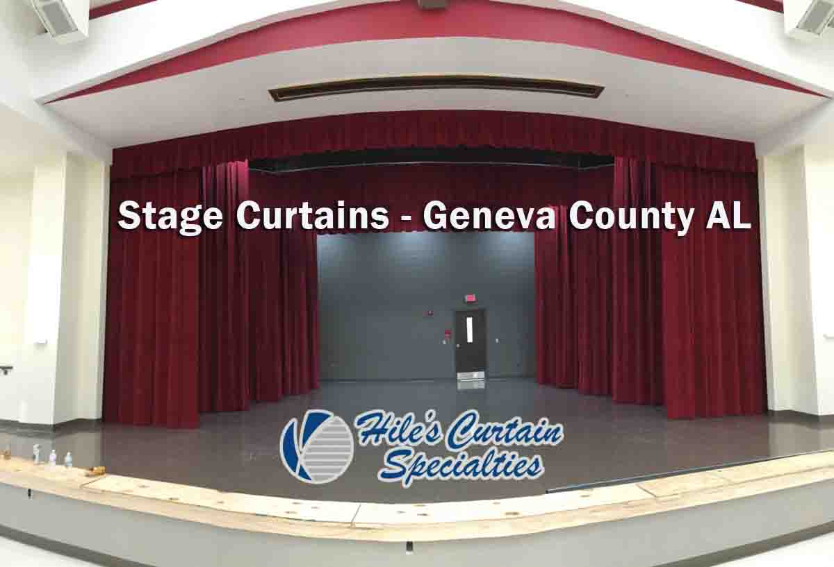 Stage Curtains - Geneva County AL
