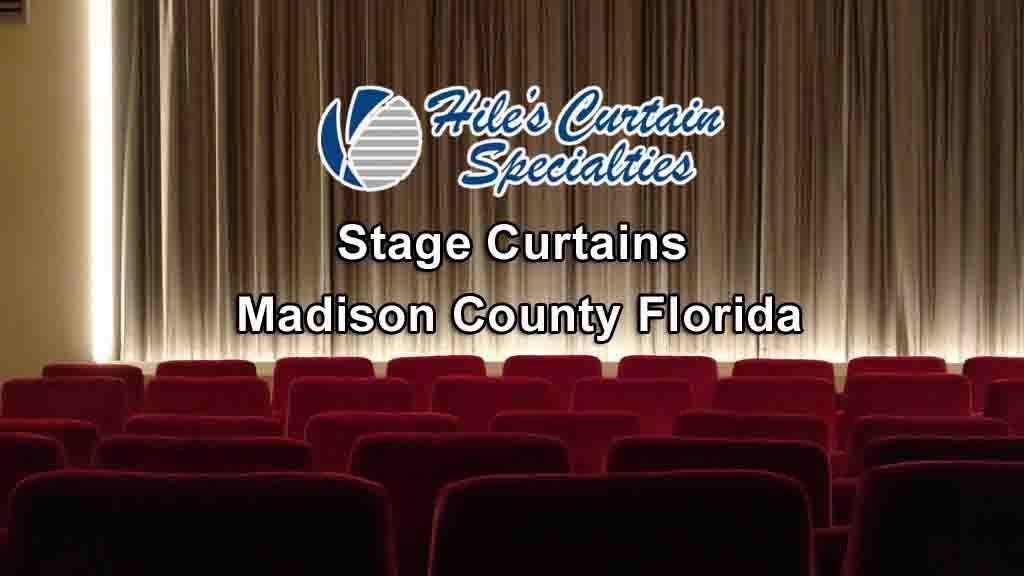 Stage Curtains - Madison County Florida