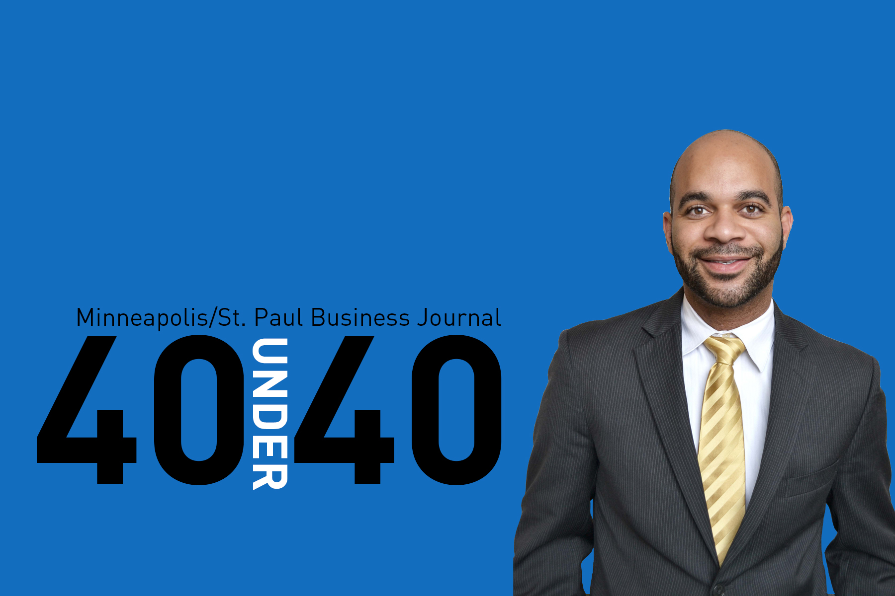 Keon Blasingame 40 Under 40 Header