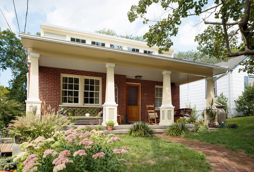 Alloy Workshop | Design Build Charlottesville | Our Work | Commercial Architecture and Construction | Blenheim Avenue Porch Addition Image