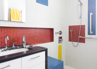 Mondrian Bathroom Renovation