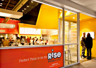 Rise PizzaWorks Restaurant Design & Build