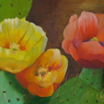 "24"" x 12"" Oil on canvas"