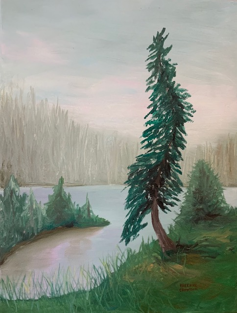 Misaty Day, Wawa Ontario, 12x16 Oil on canvas