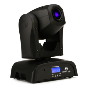 ADJ Pocket Pro 25W LED Moving-Head Spot Front