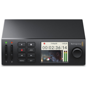 Blackmagic Design HyperDeck Studio Mini front view