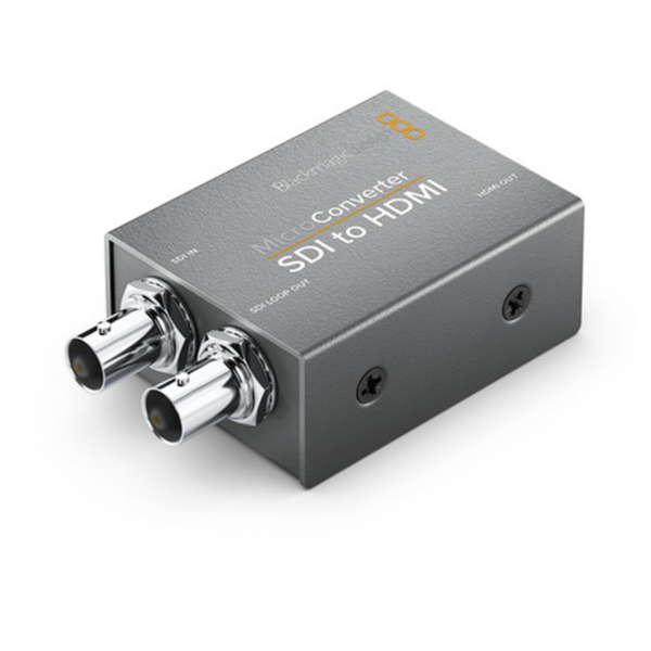 Blackmagic Design Micro Converter HDMI to SDI with Power Supply front view