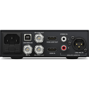 Blackmagic Design Web Presenter Professional Video Streaming Down Converter Back