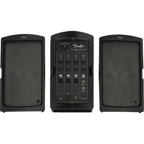 Fender Passport Conference Series 2 Portable Powered PA System Open