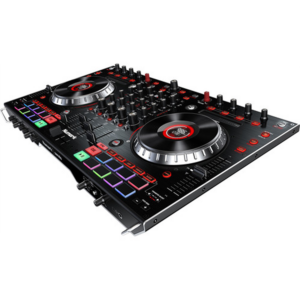 Numark NS6II DJ Controller side view