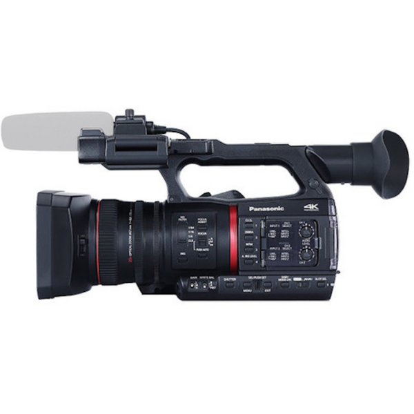 Panasonic AG-CX350 4K Camcorder side view