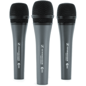 Sennheiser 3-PACK e 835 kit