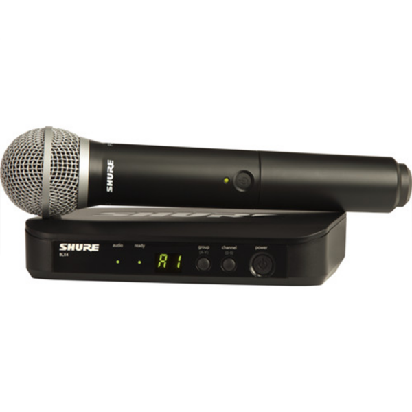 Shure BLX24:PG58 Wireless Handheld Microphone System with PG58 Capsule