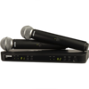 Shure BLX288:SM58 Dual-Channel Wireless Handheld Microphone System
