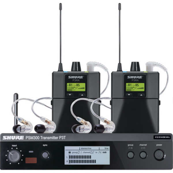 Shure PSM 300 Twin-Pack Pro