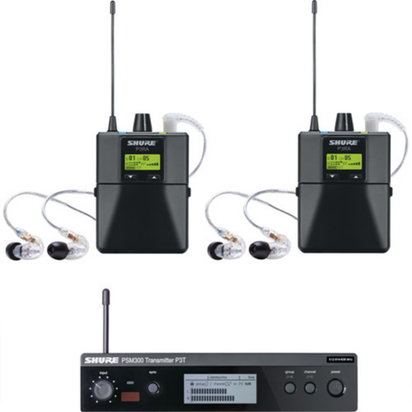 Shure PSM 300 Twin-Pack Pro kit