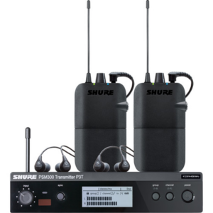 Shure PSM 300 Twin-Pack Wireless In-Ear Monitor Kit