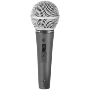 Shure SM48S-LC Vocal Microphone with On:Off Switch